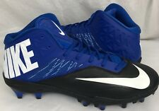 Nike Homme Zoom Arc Rayon Propulsion Football Crampons Bleu Blanc Taille 14.5 US