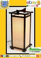 Lampada Giapponese - Nara Walnut/Bamboo Lanterna Legno Zen