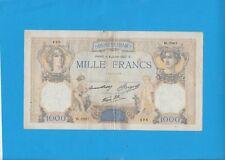 1000 FRANCS Cérès et Mercure du 8 Juillet  1937   W.2967