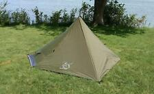 River Country Products One Person Trekking Pole Tent, Ultralight Backpacking