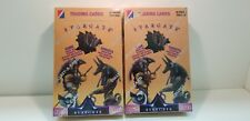 2 BOX LOT Stargate The Movie Collector Trading Card Unopened Pack Box