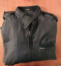 Vintage *Members Only* Navy blue 80's Jacket Size: 40