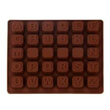 Silicone Letter Alphabet Cake Fondant Mould Chocolate Cookies Candy Mold Best
