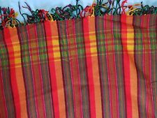Kikoy / Kikoi - Kenyan Sarong / Scarf / Wrap -NEW - RED ORANGE GREEN