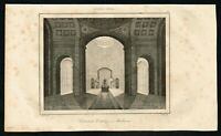 1837 Baltimore Catholic Cathedral, Antique French Print - Rochelle