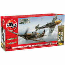 AIRFIX A50135 Dogfight Double Gift Set Spitfire 1A Messerschmitt 1:72 Model Kit