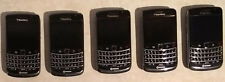 Lot of 5 Blackberry Bold 9700 GSM Rogers Smartphones for Parts and/or Repair