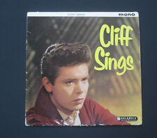 CLIFF RICHARD   Vinyl LP Cliff Sings (Green & Gold Columbia Label) EX