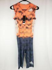 Adidas Adizero Climachill Track and Field Speedsuit Orange Mens Size XL CD3147