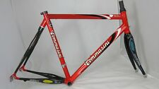 TOMMASINI Ultra Deda EOM 16.5 Fire Acciaio/Carbonio Road Bike frameset size: L