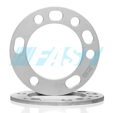 "Wheel Spacers 1/4"" Thick Fits 5x135, 5x5.5, 6x135, 6x5.5 Bolt Patterns 2 Pieces"