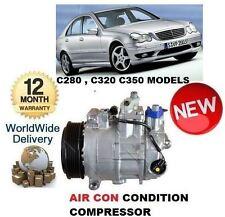 Per MERCEDES C280 C320 C350 W203 5/2000 -2007 AC aria con compressore CONDIZIONAMENTO