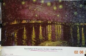 Starry night over the Rhone Vincent Van Gogh PHE-LIT-028 (BTK-361C #20 ..