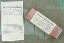 "REPRODUCTION GERMAN WWII GAS ATTACK ""HAUTENTGIFTUNGMITTEL"" LABEL"