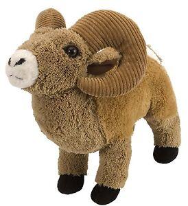 Big Horn Sheep 12 inch Plush stuffed animal by Wild Republic soft and cuddly NEW