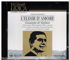Donizetti: L'Elisir D'amore / Molinari pradelli, Di Stefano, Gueden, Capecchi CD