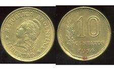 ARGENTINE 10 centavos 1974