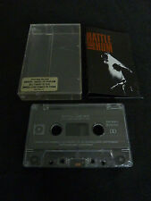 U2 RATTLE AND HUM ULTRA RARE AUSSIE CASSETTE TAPE WITH CUSTOM FRONT STICKER!