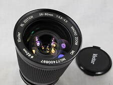 VIVITAR RL EDITION 28-80mm 3.5-4.5 ZOOM LENS FITS NIKON AI W/CAPS