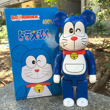 400% Bearbrick Be@rbrick Doraemon  Cat 11inch Model Action Figure Free Shipping