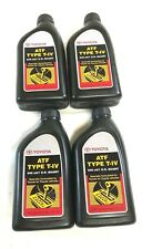 4 Pack Genuine Toyota Automatic Transmission Fluid 00279000T4 for Yaris Pickup