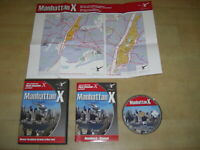 MANHATTAN X Pc Cd Rom Add-On Microsoft Flight Simulator Sim 2004 & X FS2004 FSX
