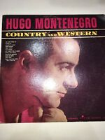 Hugo Montenegro-Country and Western-LP VINYL-Time Records-S/2071-RARE VINTAGE