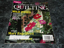 American Patchwork & Quilting Magazine March April 2003 Mocha Java