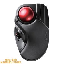 ELECOM Trackball wireless mouse Large tapper M-HT1DRBK from JAPAN F/S tracking