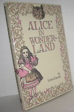 Alice in Wonderland by Lewis Carroll (1985, Hardcover) book, classic Tales