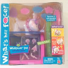 What's Her Face Whatever Pet On the GO! Cat or Dog By Mattel NEW