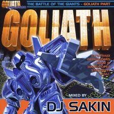 DJ Sakin Goliath 6-Battle of the giants (mix) [CD]