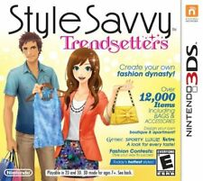 Style Savvy Trendsetters 3DS New Nintendo 3DS, nintendo_3ds