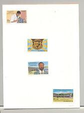Dominica #1564-1567 School, Education, Microscope 4v Imperf Proofs in Folder