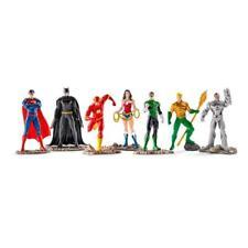 Figuras de acción de superhéroes de cómics Schleich, liga de la justicia