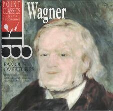 Wagner: Famous Overtures Music CD 1997 Point Classics