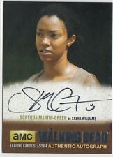 THE WALKING DEAD SEASON 4 PART 2 - SMG1 SONEQUA MARTIN-GREEN (SASHA) AUTOGRAPH