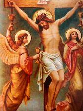 Jesus on the Cross Catholic Crucifixion Print