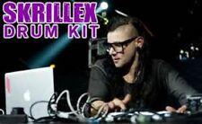 Skrillex DRUM Sounds Kit Dubstep SAMPLEs Drumstep House DNB Hardstyle Jumpstyle
