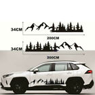 2x Tree Mountain Forest Decal Car Side Body Graphic Sticker For Rv Trailer Truck
