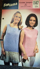 Crochet Vintage Sweaters Patterns