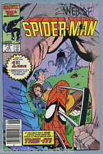 Web of Spider-Man #16 1986 Newsstand David Michelinie Marc Silvestri Kyle Baker