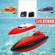Remote Control RC Boat Electric Super Speed High Performance Boat Kids Toy US