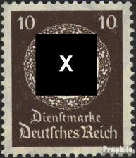 Imperio Alemán d137 nuevo 1934 sello de franqueo oficial