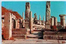 *1970s Efes Mermer Cadde Street of Marmor Turkey Vintage 4x6 Postcard C70