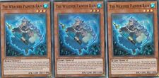 YUGIOH CARD 3 X THE WEATHER PAINTER RAIN  SPWA-EN030 - SPIRIT WARRIORS - SUPER