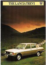 Lancia Trevi 1982-84 UK Market Sales Brochure 1600 2000 Beta