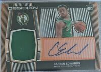 🔥🏀2019-20 Panini Obsidian Carsen Edwards RPA Auto Patch Rookie Orange 48/50