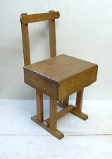 Vintage Childs Pine Chair Under Seat Storage Taylors Leicester?