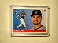 2020 Sam Hilliard RC Topps Archives #40 Colorado Rockies Rookie Card